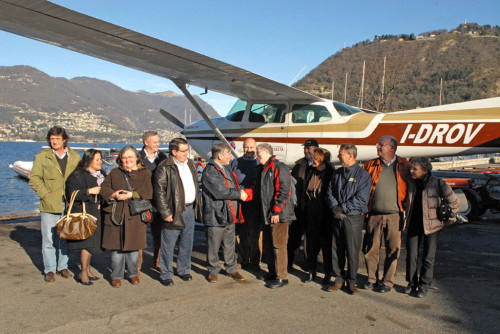 Aero-Club-Como-DGAC-Gandil-received-Baj